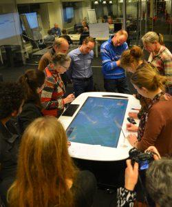Maptable Radboud Universiteit SmartEmission